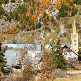 Paul MAURICE - Village of Nevache - 1 - French Alps