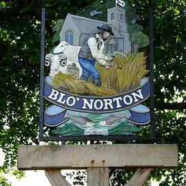 Richard Reeve - Village Sign - Blo Norton