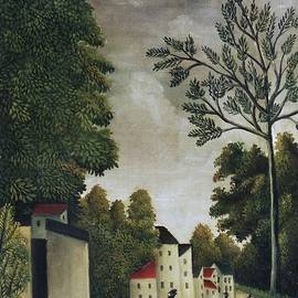 Village Street by Henri Rousseau