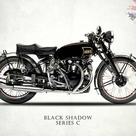Vincent Black Shadow by Mark Rogan