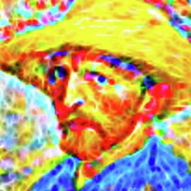 Vincent van Gogh In Blue by Jerome Stumphauzer