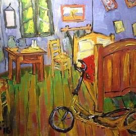 Vincent Van Go's Bedroom by Francois Lamothe
