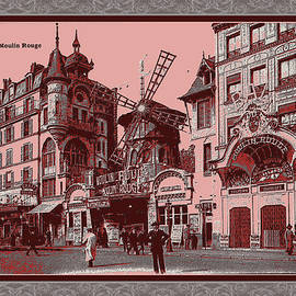 Vintage 1900s Paris by Robert G Kernodle