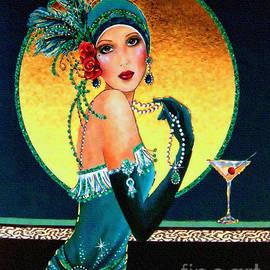 Vintage 1920s Fashion Girl  by Ian Gledhill