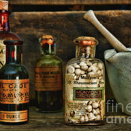 Vintage Apothecary Home Remedies by Paul Ward