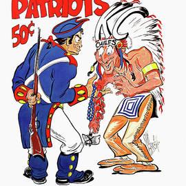 Vintage Boston Patriots 1963 Football Program by John Farr