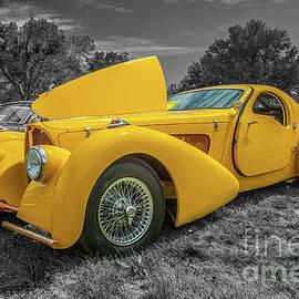 Vintage Bugatti by Tony Baca