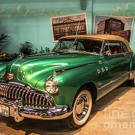 Vintage Car - 1949 Buick - 2016 Sonoma County Fair by Blake Webster