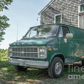 Edward Fielding - Vintage Chevy Van