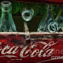 Paul Ward - Vintage Coca Cola Bottles very dusty