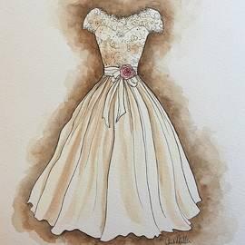 Cheri Miller - Vintage Creme Gown