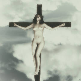 Ramon Martinez - Vintage crucified woman