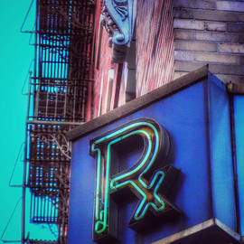 Miriam Danar - Vintage Drugstore Pharmacy Sign - Rx - variation