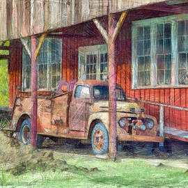 L Wright - Vintage F5 Fire Truck