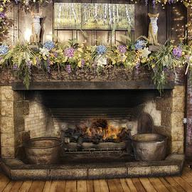 Thomas Woolworth - Vintage Fireplace
