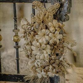 Teresa Wilson - Vintage Floral Swag on a Bedpost
