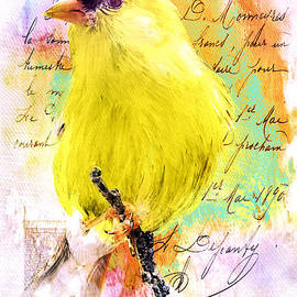 Tina LeCour - Vintage Goldfinch