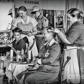 Vintage Hair Dresser by Paul Ward