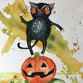 Hilda Vandergriff - Vintage Halloween Cat