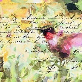 Tina LeCour - Vintage Hummingbird