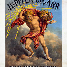 Jon Neidert - Vintage Jupiter Cigar Advertisement