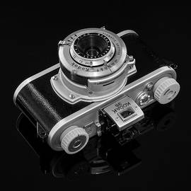 Vintage Kodak 35 Camera by Jon Woodhams