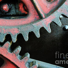Vintage Machinery 4 by Bob Christopher