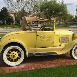 Vintage Model A Ford by Denise Mazzocco