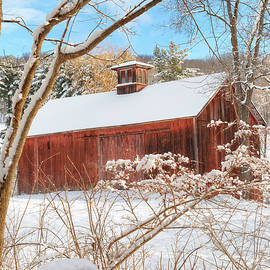 Bill Wakeley - Vintage New England Barn Portrait