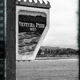 Nancy Forehand Photography - Vintage Pier Sign
