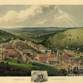 John Stephens - Vintage Pottsville Pennsylvania Etching With Remarque