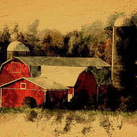 Leslie Montgomery - Vintage Red Barn