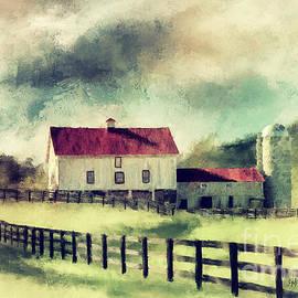 Vintage Red Roof Barn