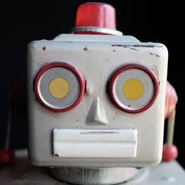 Vintage Robot Square