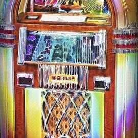 Vintage Rock-Ola Jukebox
