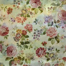 Vintage Rose Wallpaper by Grace Iradian