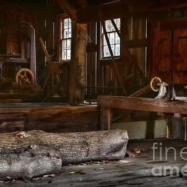 Vintage Sawmill  by Paul Ward