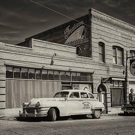 Vintage Street Scene by Jurgen Lorenzen