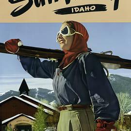 Daniel Hagerman - VINTAGE SUN VALLEY TRAVEL 1940