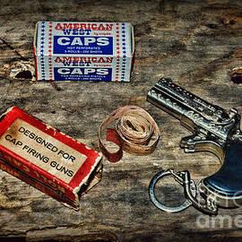 Vintage Toy Cap Gun by Paul Ward