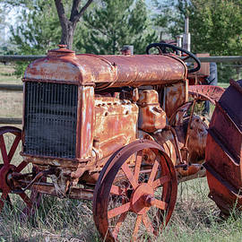Vintage Tractor by Lowell Monke