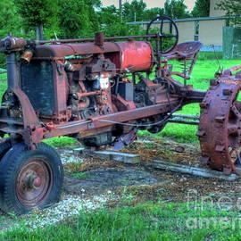 Vintage Tractor by Tony Baca