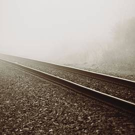 Dan Sproul - Vintage Train Tracks In Fog