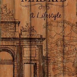 Vintage Travel Madrid - Debbie DeWitt