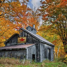 Vermont Sugarhouse by T-S Photo Art