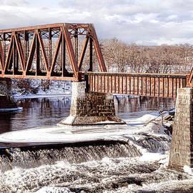 Vintage Waterville Rail Bridge - Olivier Le Queinec