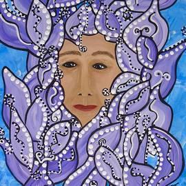 Violet Maggie by Barbara St Jean