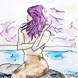 Katrina Ryan - Violet Mermaid