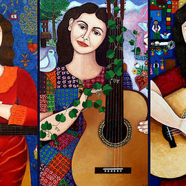 Madalena Lobao-Tello - Violeta Parra collage