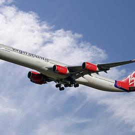 Virgin Atlantic Airbus A340-642 - Nichola Denny